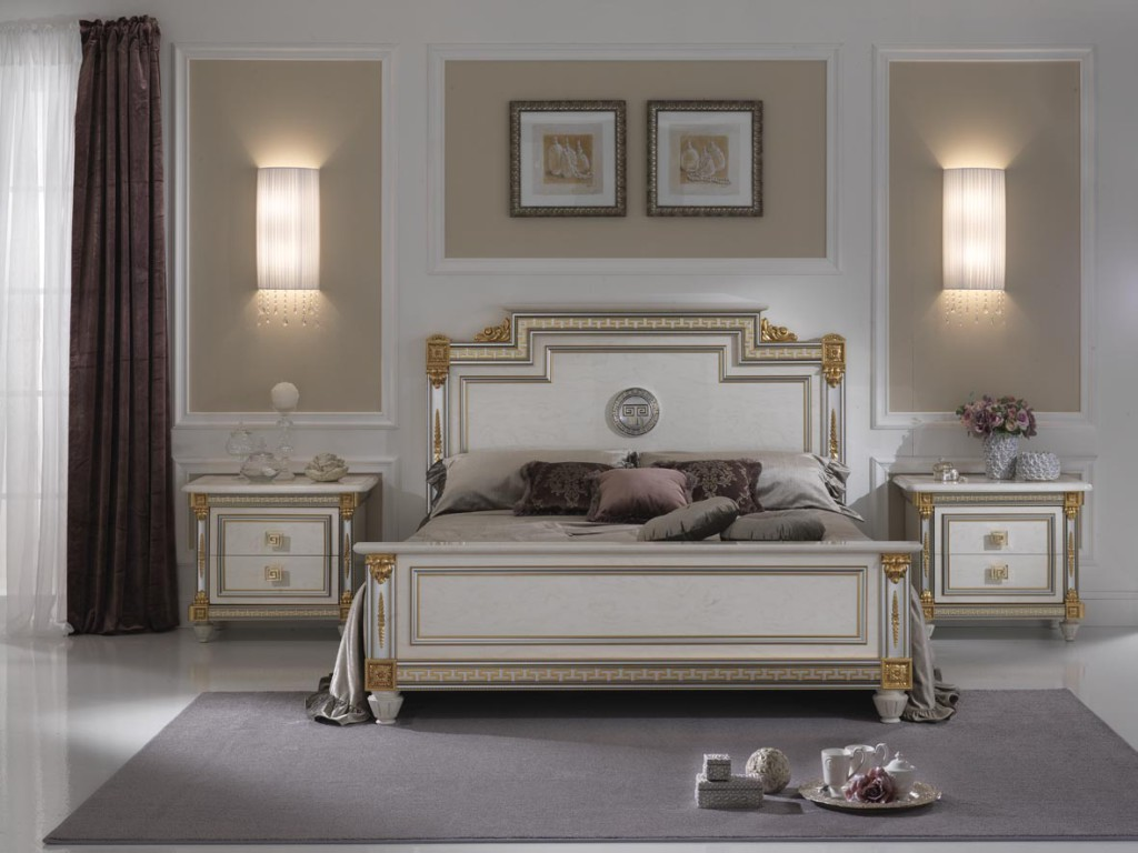 decoration de chambre a coucher classique