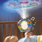lampe bebe projection murale