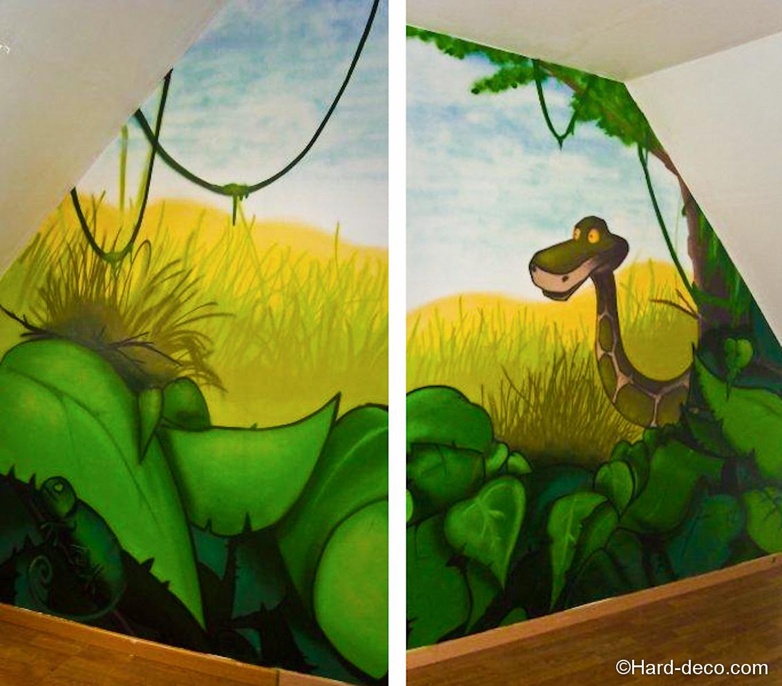 Deco Jungle Chambre Adulte decoration chambre savane adulte