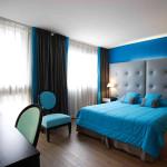 chambre decoration bleu