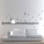 deco chambre theme musique