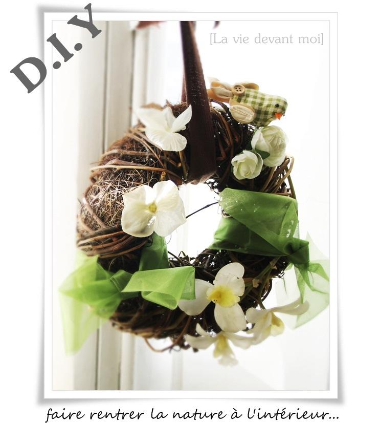 Idee Deco Chambre Garcon : Deco printemps a faire soi meme