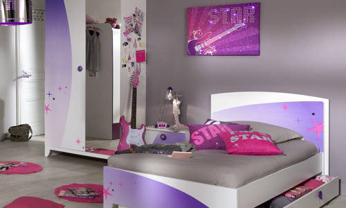 Decoration de chambre de fille de 16 ans - Theme chambre fille ...