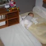 lit bebe sans barreau montessori