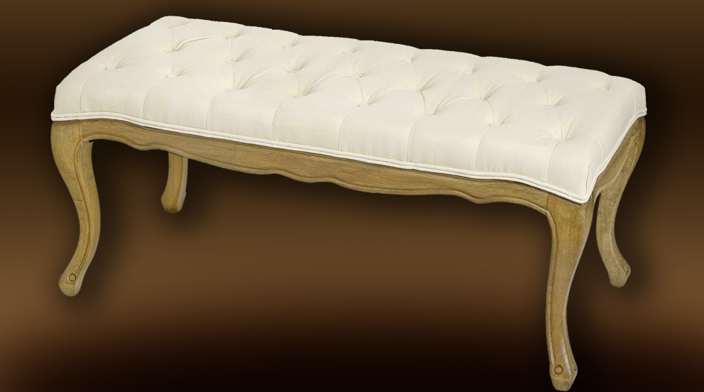 Decoration Chambre Ado Fille Ikea : Bout de lit en lin