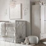 decoration chambre bebe gris et blanc