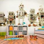 decoration chambre robot