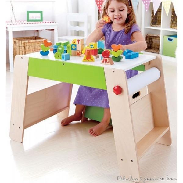 bureau en bois pour petite fille. Black Bedroom Furniture Sets. Home Design Ideas