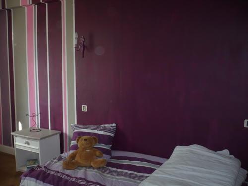deco chambre aubergine