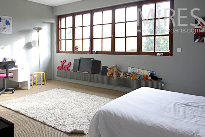 decoration chambre en longueur