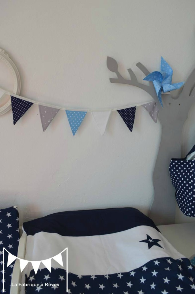 deco chambre bebe bleu marine visuel 3. Black Bedroom Furniture Sets. Home Design Ideas