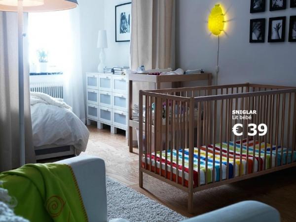 photo chambre bebe ikea