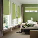 deco chambre vert kaki