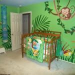 decoration chambre garcon jungle