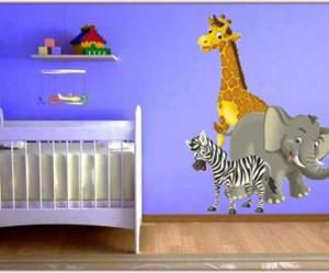 decoration chambre bebe animaux