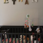 decoration chambre bebe lettre