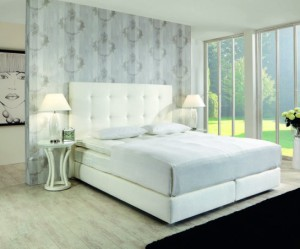 decoration lit chambre a coucher
