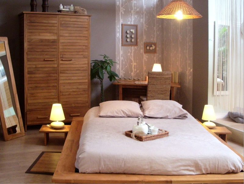 decoration zen chambre adulte