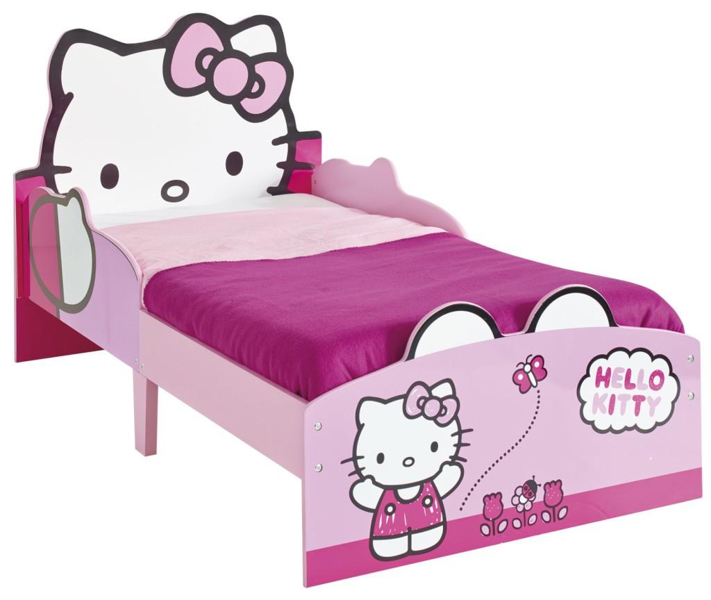 lit junior folk hello kitty visuel 5. Black Bedroom Furniture Sets. Home Design Ideas