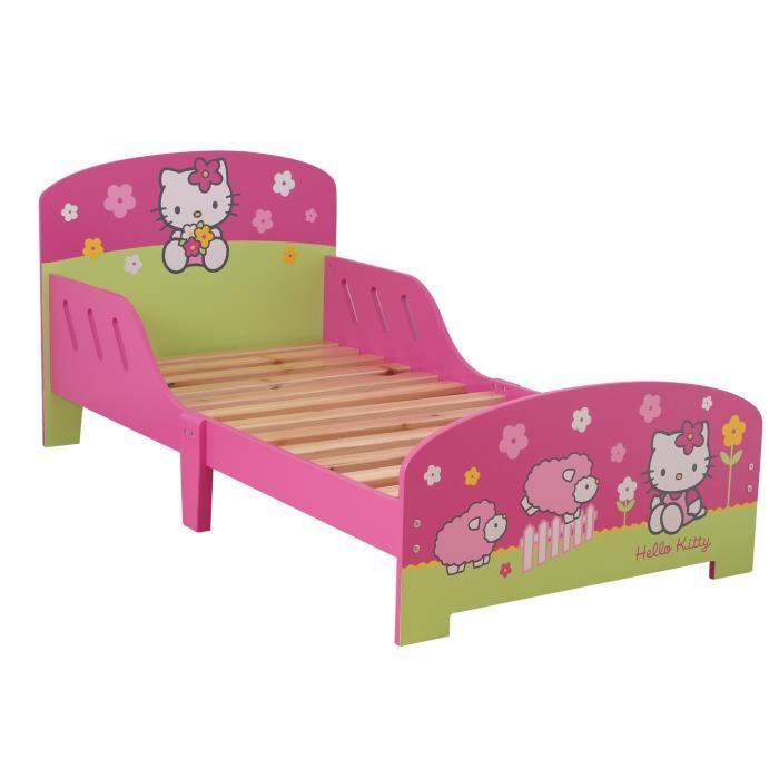 lit junior folk hello kitty visuel 8. Black Bedroom Furniture Sets. Home Design Ideas